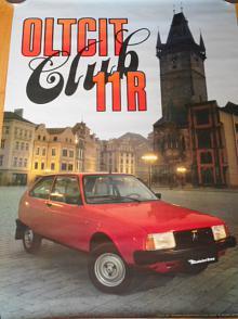 Oltcit Club 11 R - Mototechna - plakát - 1989