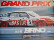 Grand Prix Brno - Mistrovství Evropy 8. 6. 1986 - plakát