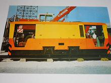 ZTS DH 30 D.O banská dieselhydrostatická lokomotiva prospekt