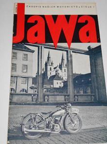 JAWA - časopis našich motoristů - 7/1938