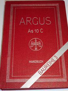 Argus Flugmotor As 10 C - Handbuch - 1941