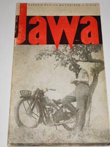 JAWA - časopis našich motoristů - 1/1933