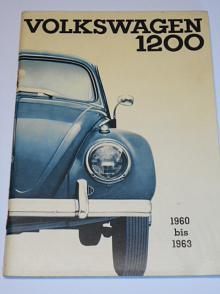 Volkswagen 1200 Betriebsanleitung Limousine und Cabriolet