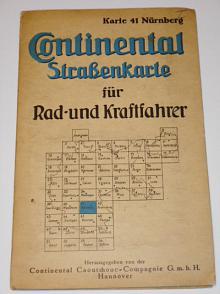 Continental Strassenkarte für Rad - und Kraftfahrer