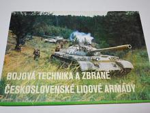 Bojová technika a zbraně Československé lidové armády - 1979