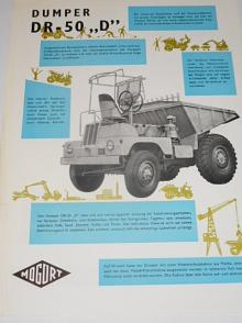 Dumper DR-50 D - 1964 - prospekt - Mogürt