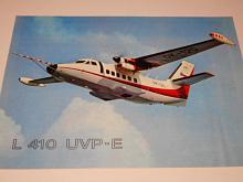 LET Uherské Hradiště - L 410 UVP-E - prospekt