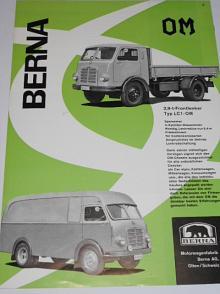 Berna Typ LC1 - OM - prospekt