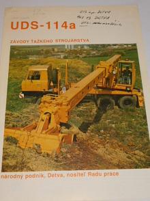 Tatra 815 UDS-114 a - ZTS n. p. Detva - prospekt