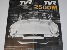 TVR 2500 M - prospekt - 1976
