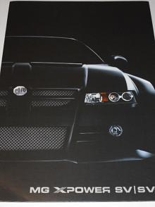 MG XPover SV/SV-R - prospekt