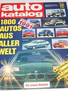 Auto Katalog 1991 - Škoda Favorit, Forman, Tatra 613 Special