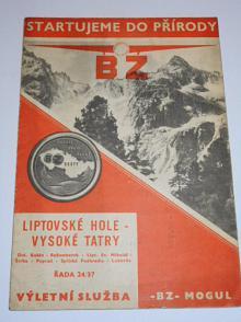 BZ - Mogul - Liptovské Hole - Vysoké Tatra - automapa - reklama
