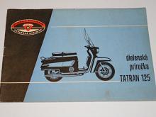 Tatran 125 - dielenská príručka - 1966