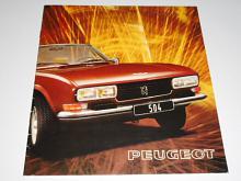Peugeot 504 Cabriolet, Coupé - Pininfarina - prospekt - 1975