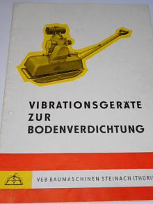 Vibrationsgeräte zur Bodenverdichtung - prospekt - 1965