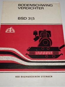 Bodenschwing Verdichter BSD 31,5 - prospekt - 1963