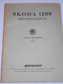 Škoda 1200 Driver´s Manual - 1955 - Motokov