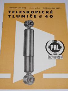 PAL - teleskopické tlumiče průměr 40 - 1971