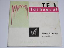 Tachograf TF 1 - návod k použití a obsluze