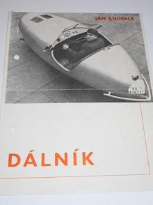 Jan Anderle - Dálník - motor JAWA Minor, karoserie Sodomka - prospekt - 1941