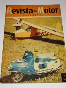 Revista del Motor Checoslovaca - 1958 - JAWA, ČZ...