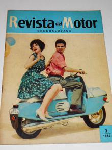 Revista del Motor Checoslovaca - 1962 - JAWA, ČZ, Škoda...