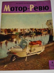 Československá Motor - Revue - 1963 - Škoda, JAWA, ČZ ...