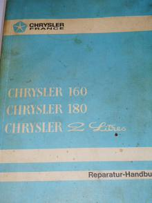 Chrysler 160, Chrysler 180, Chrysler 2 Litres - Reparatur - Handbuch - 1974