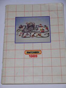 Matchbox 1989 - prospekt - katalog