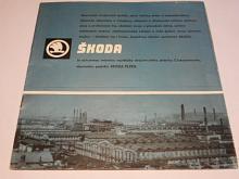 Škoda Plzeň Závody V. I. Lenina - prospekt - 1968