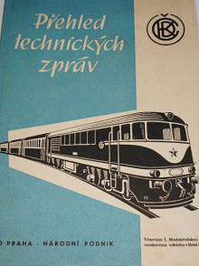 ČKD Praha - přehled technických zpráv - 1959 - věnováno 1. Mezinárodnímu vzorkovému veletrhu v Brně