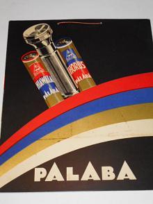 Palaba - papírová reklama