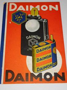 Daimon - papírová reklama