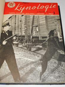 Kynologie - 1957 - časopis Svazu pro spolupráci s armádou