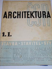 Architektura ČSR - 1939
