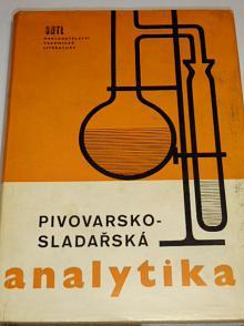 Pivovarsko - sladařská analytika - 1966 - Vančura