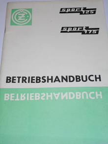 ČZ 125/476, ČZ 175/477 Sport - Betriebs Handbuch - 1971