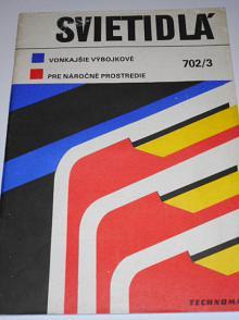 Svietidlá - vonkajšie výbojkové, pre náročné prostredie - Technomat - katalog - 1980
