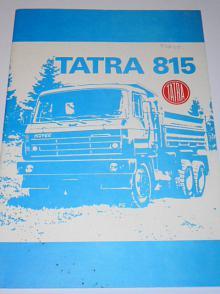 Tatra 815 - prospekt - Trappes, France