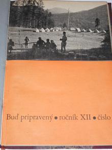 Buď pripravený - 1936, 1937 - časopisy + příloha Slovenský vodca - Skaut