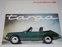 Porsche Targa 911, 912 - prospekt - 1965