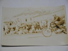 Závodní motocykl Jawa ? fotografie