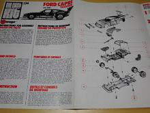 Burago - Ford Capri Zakspeed - pokyny pro montáž