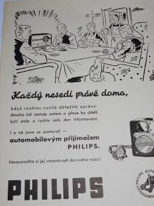 Philips - autoradio - prospekt