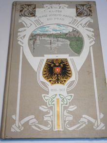 Kaiser Franz Joseph Hafen in Prag-Smichow-Zlichow (Kaiserwiese) an der Moldau 1899 - 1903