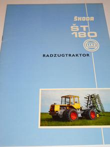 Škoda ŠT 180 Radzugtraktor - prospekt - Liaz - Motokov