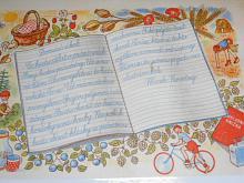 Vkladní knížka - domácí úkol - co budu dělat o prázdninách - plakát - leták