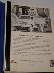 Praga, Škoda, Liaz, Karosa, SVA, BSS - prospekt - Škoda, Praga střední nákladní automobily