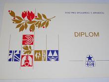 Svazarm - Svaz pro spolupráci s armádou - diplom